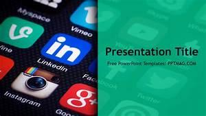social media powerpoint template centreuropeinfo With social media powerpoint template free download