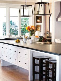 black and green kitchen shaker cabinets in this beautiful htons style kitchen 4642