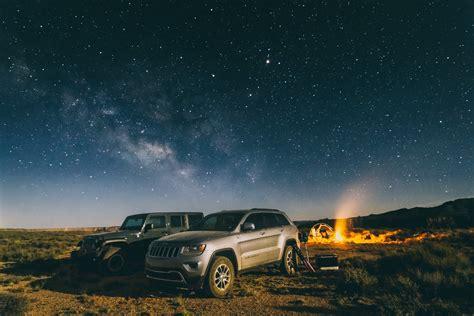 Camping, Arizona, Sky, Night, Stars, Outdoors