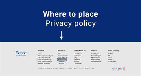 Where Place Your Privacy Policy Website Termsfeed