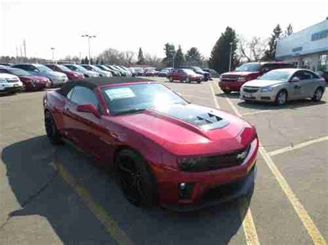 Purchase New 2013 Chevrolet Camaro Zl1 Convertible