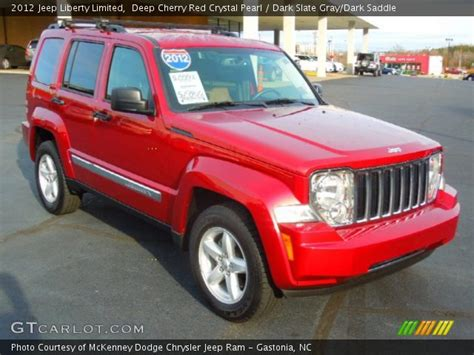 red jeep liberty 2012 deep cherry red crystal pearl 2012 jeep liberty limited