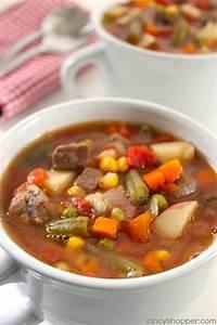 best homemade vegetable beef soup