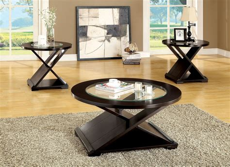 Orbe 3 Piece Occasional Table Set From Furniture Of