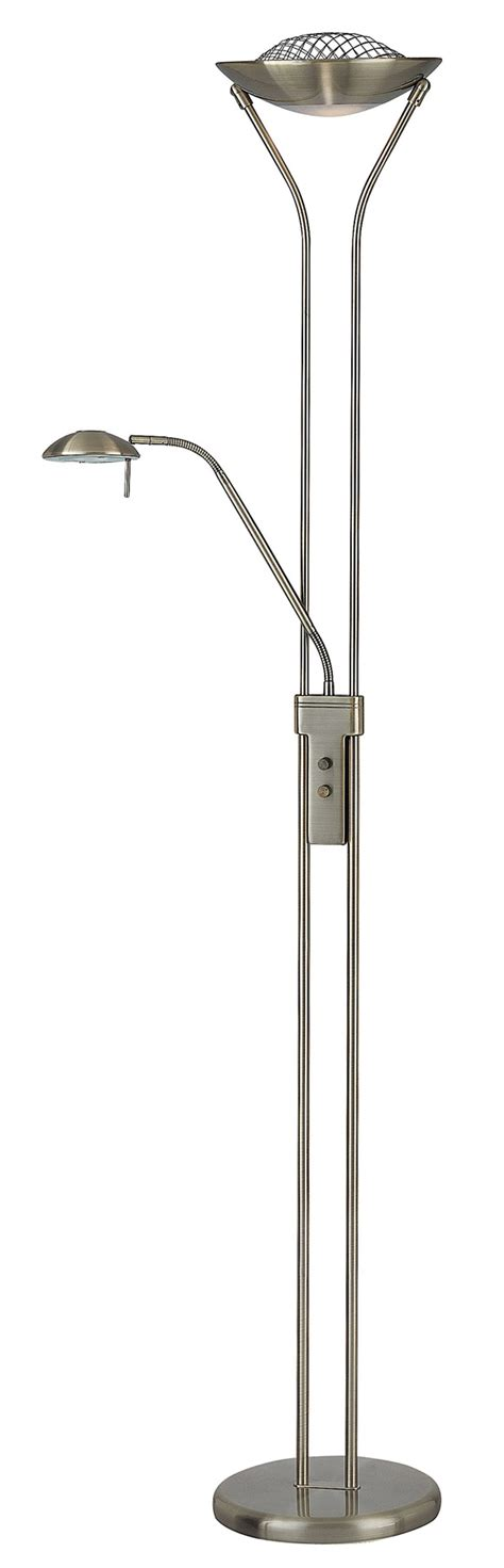 lite source ls 80984ab duality torchiere floor l with