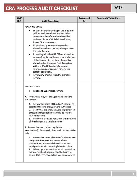 audit follow up template cra program template geodatavision