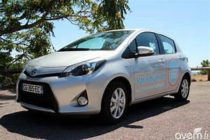 Essai Toyota Yaris : essai de la toyota yaris hybride ~ Medecine-chirurgie-esthetiques.com Avis de Voitures
