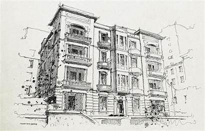 Alexandria Pencil Crumbling Building Med Bride Preserve