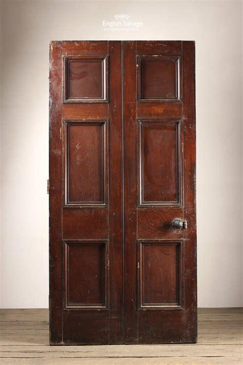reclaimed wide oak  panel door