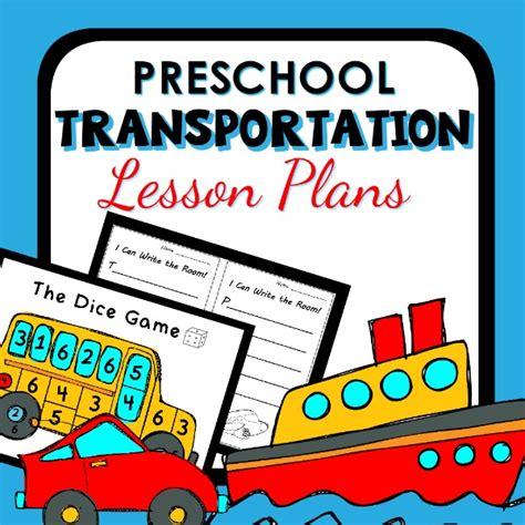 transportation theme preschool classroom lesson plans 186 | Preschool TransportatIon Lesson Plans cover2