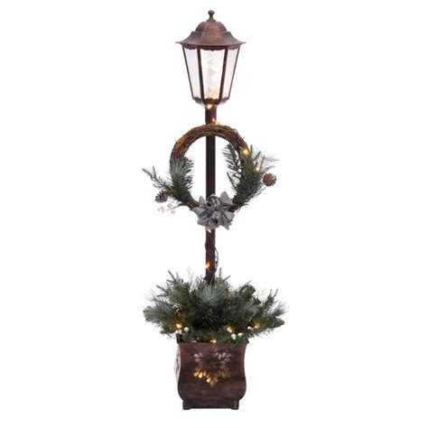 christmas decoration lamp post wwwindiepediaorg