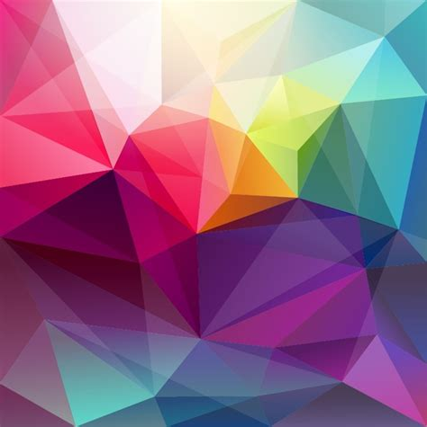 triangle abstract background free vector graphics all