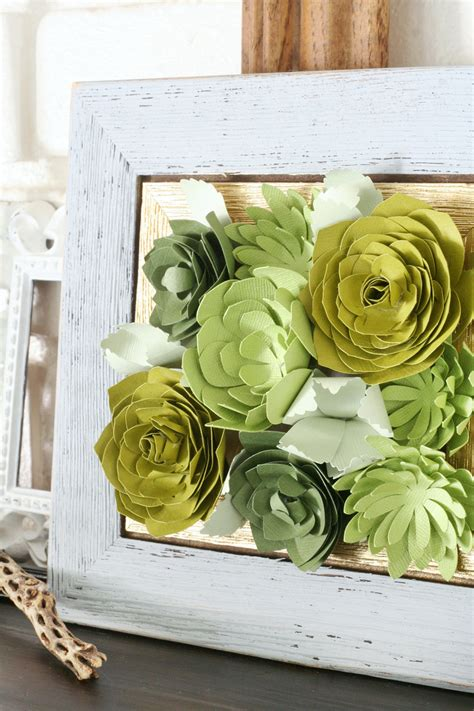 Wood Planter Box Centerpiece