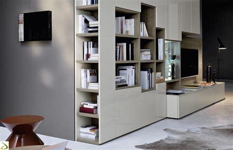 libreria per soggiorno soggiorno in legno componibile lo arredo design