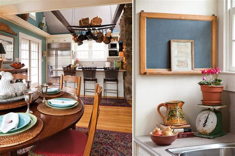 eclectic kitchen  cottage journal