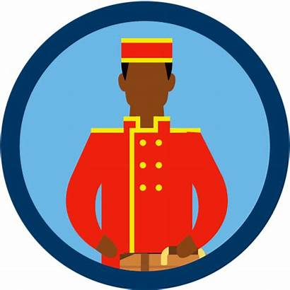 Hospitality Security Porter Desk Industry Hotel Uniform