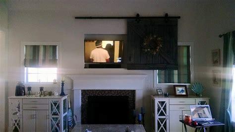 hometalk barn door tv cover