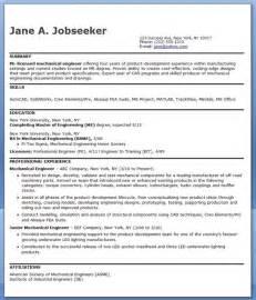 junior mechanical engineer sle resume