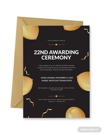 award templates  ai ms word pages psd