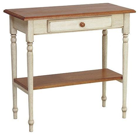 Country Style Foyer Table Antique White 28 75 Quot H X 15 Quot W X
