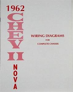 62 1962 Chevy Nova Electrical Wiring Diagram Manual