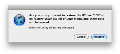 how to return iphone to factory settings how can i restore iphone to factory settings with itunes