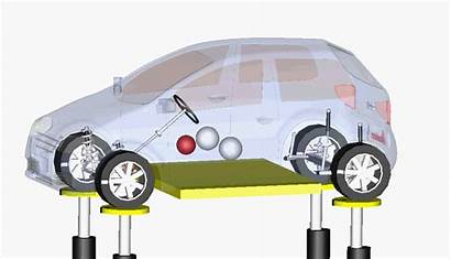 Vehicle Test Compliance Kinematics Rig Virtual Physical