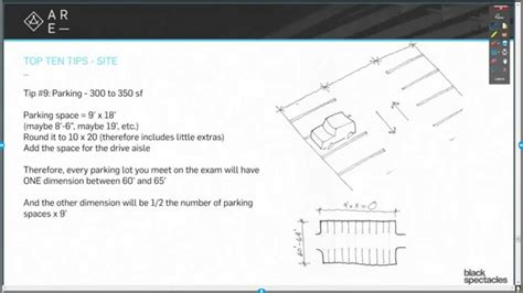tip 9 calculate parking lot square footage top ten