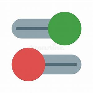 Multiple Switches Stock Vector  Illustration Of Interface