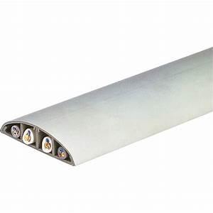 Passage De Cable Au Sol : passage de plancher blanc h 1 7 x p 7 5 cm leroy merlin ~ Dailycaller-alerts.com Idées de Décoration