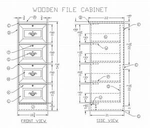 Learn How to Make a Wooden File Cabinet - Woodworking