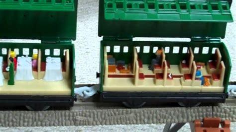 trackmaster   passenger coaches thomas  train