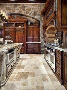 tuscan kitchen design tuscan kitchen style with With kitchen colors with white cabinets with italian wall art kitchen