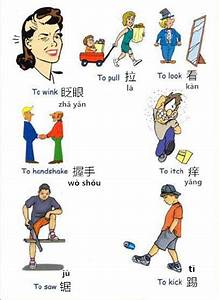 Pinyin Chart For Kids Learn Chinese Vocabulary In An Easy Way Verbs Part 6