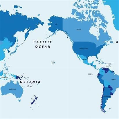 Pacific Ocean Map Islands Maps Oceans