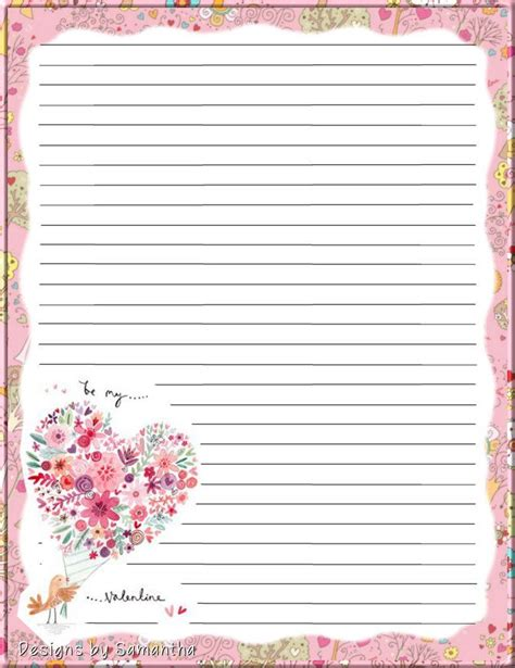 pin  shelly wood  stationary lined writing paper