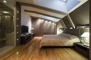 chambre sous toit 20 photos conseils et astuces pour l With chambre sous pente de toit