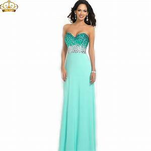 sumptuous a line mint green women summer dress beaded With formal dresses for summer wedding