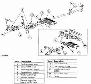 2016 Honda Accord Exhaust Parts Diagram