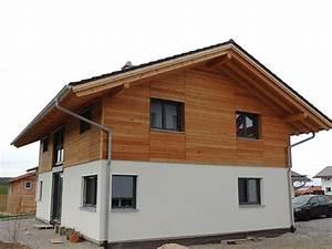Fassadengestaltung Holz Und Putz : zimmerei schm lz holzh user ~ Michelbontemps.com Haus und Dekorationen