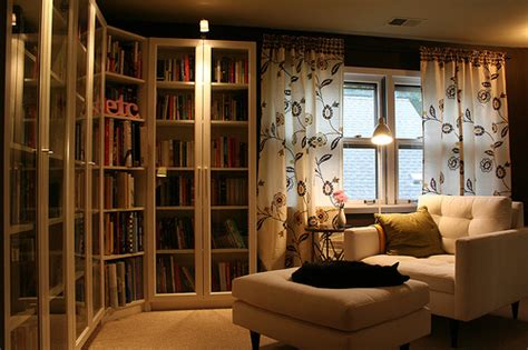 Home Library Designs And Decors