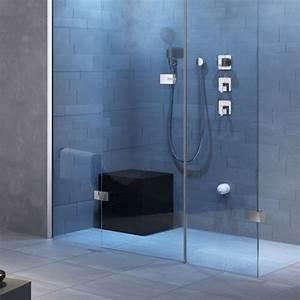 Badhocker Für Dusche : duschsitz badhocker sitzw rfel in schwarz 40x40x45cm bequem ~ Michelbontemps.com Haus und Dekorationen