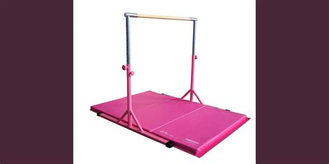 athletic expandable kip bar xx mat package pink
