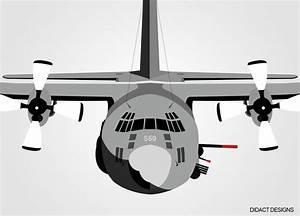 C130 Vector At Getdrawings