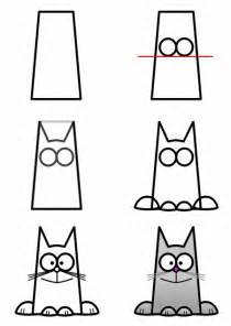 cat drawing easy how to draw a cat