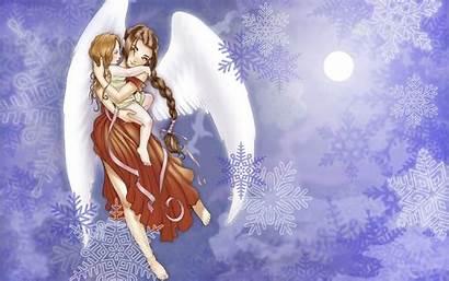 Angel Desktop Wallpapers Angels Backgrounds Wings Background