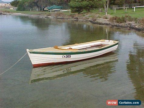 Wooden Dinghy Boat For Sale by Wooden Clinker Dinghy Classic Put Put Style Boat For Sale