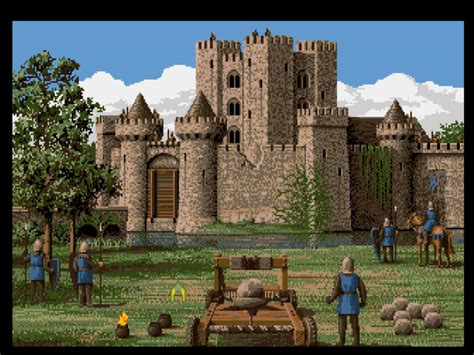 castle siege flash defender of the crown the digital antiquarian
