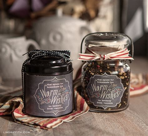 printable labels   fall food gifts  lia griffith