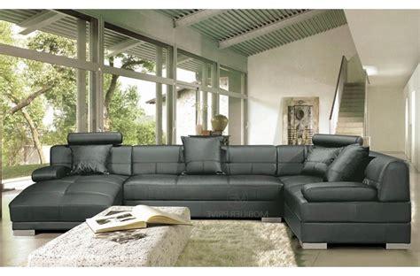 canape d angle cuir gris canapé napoli mobilier privé avis mobilier privé